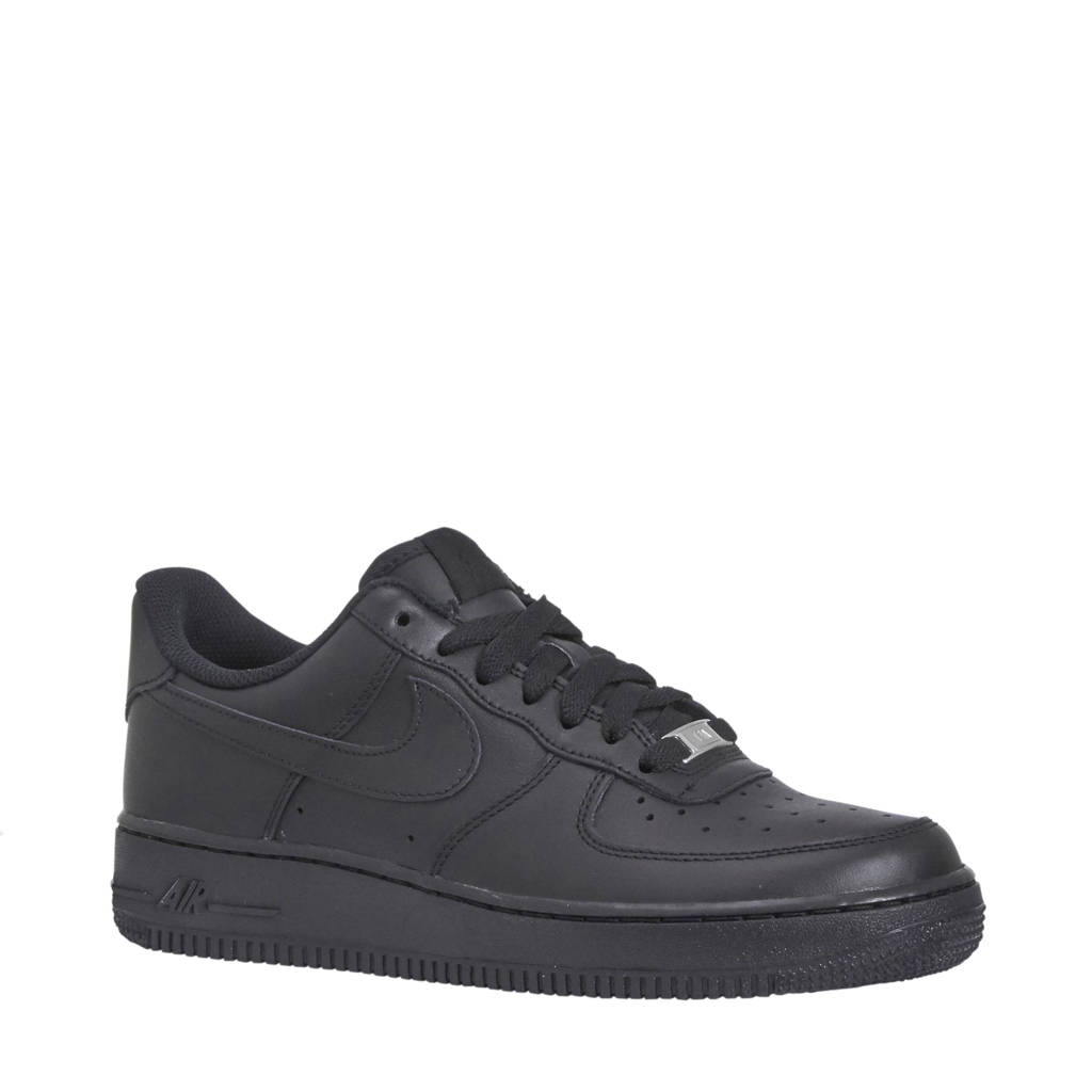 Nike Air Force 1 '07 sneakers, Zwart/Zwart