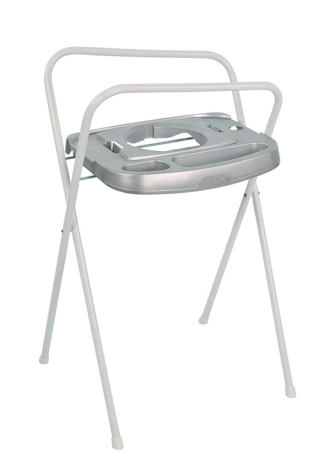 bebe-jou click metaal badstandaard 103 cm, Zilver