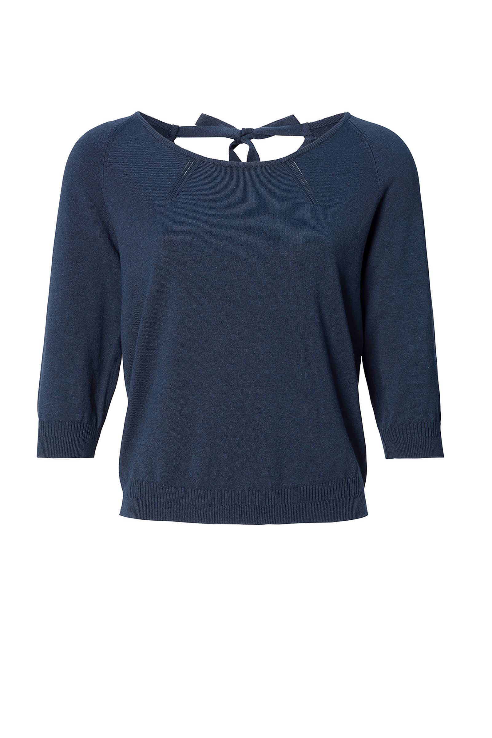 La Ligna trui donkerblauw | wehkamp