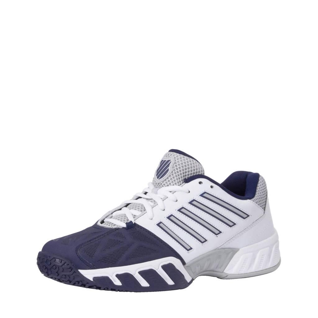 K-Swiss Bigshot Light 3 Omni tennisschoenen, Blauw/wit/zilver