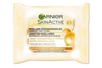 Skinactive Micellaire Reinigingsdoekjes Verrijkt met Oliën - 25 stuks