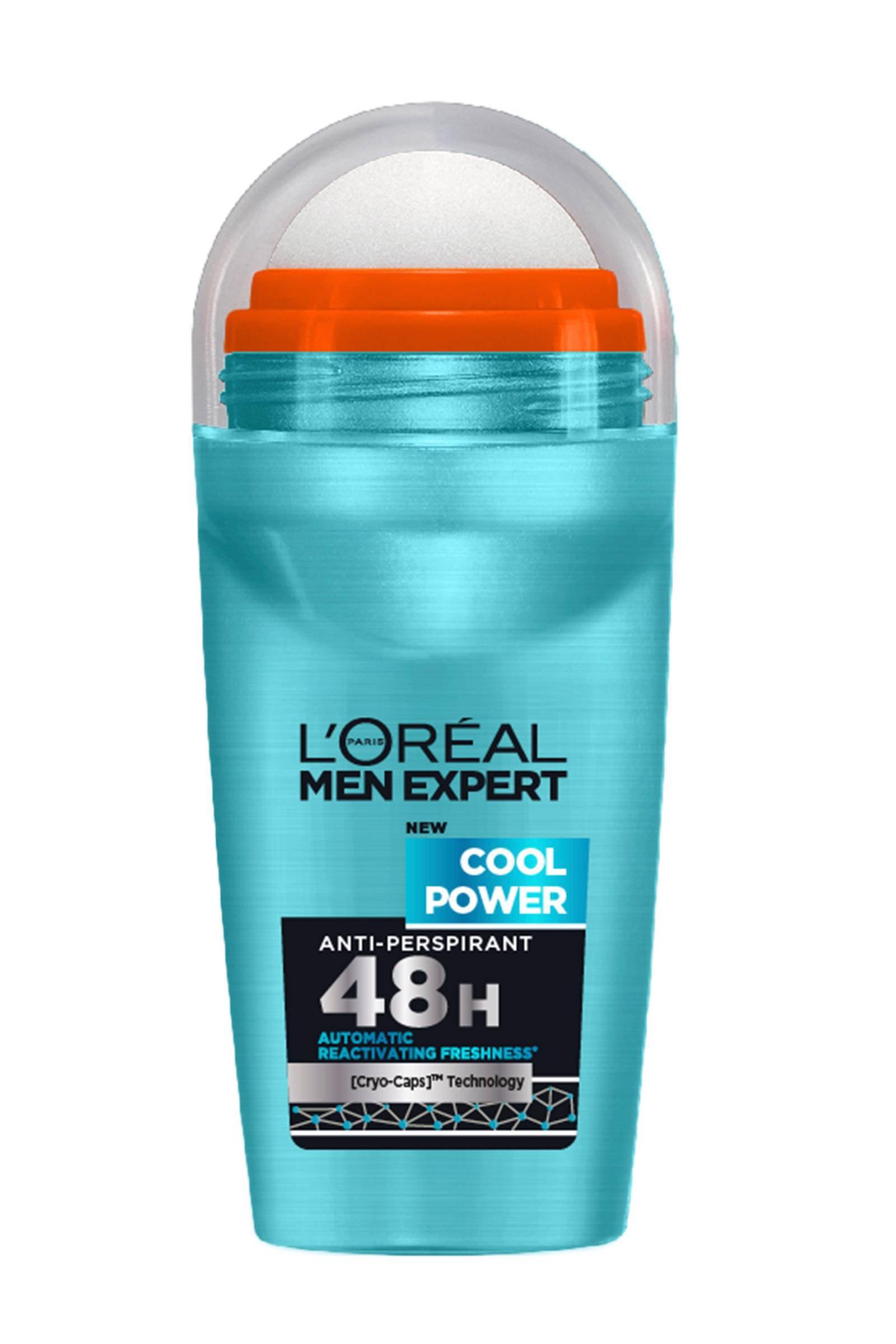L'Oréal Paris Men Expert 48H Cool Power deodorant roller