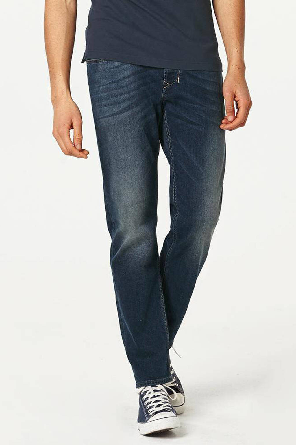 Diesel regular fit jeans Larkee-Beex, Donkerblauw