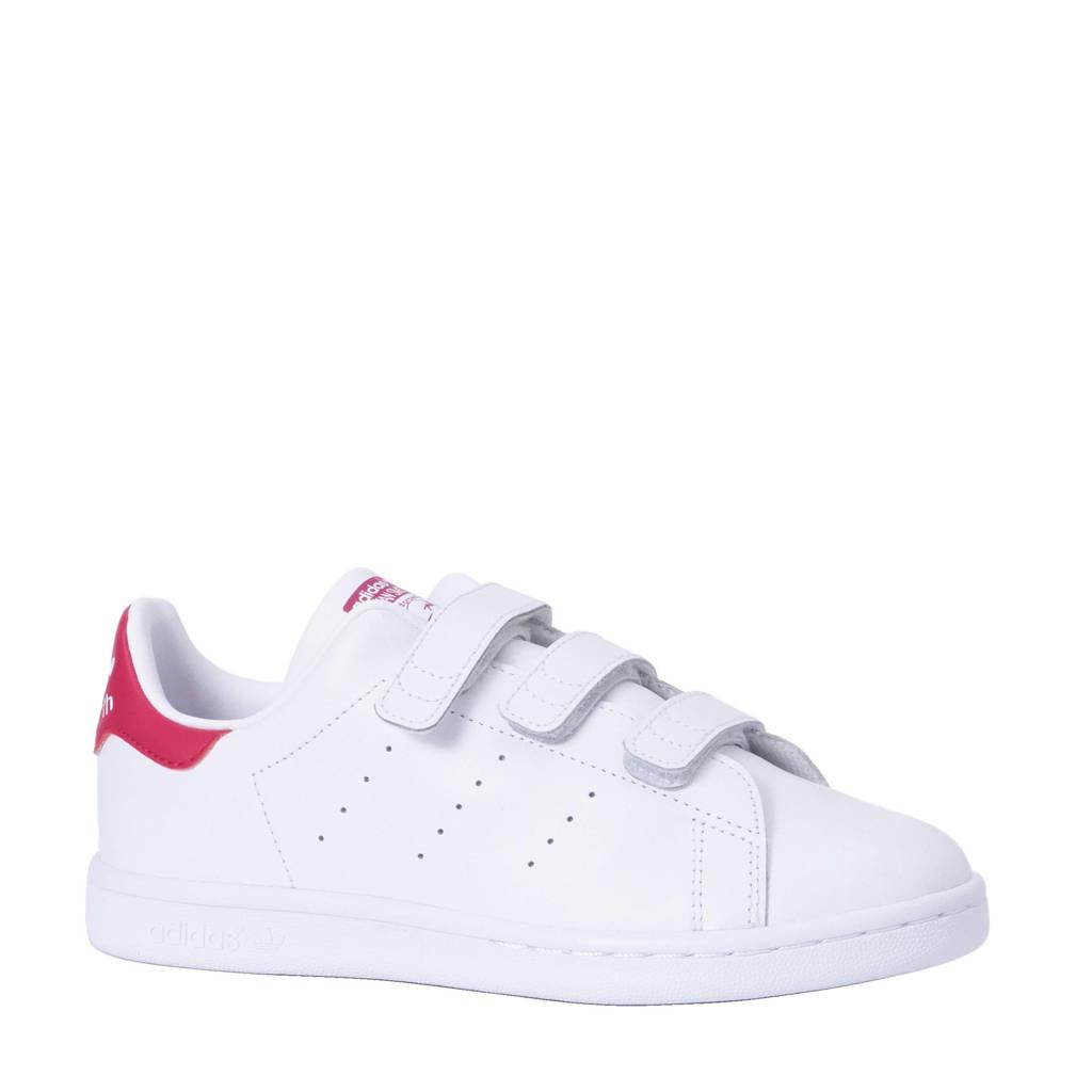 adidas Originals Stan Smith CF C leren sneakers wit/roze, Wit/roze