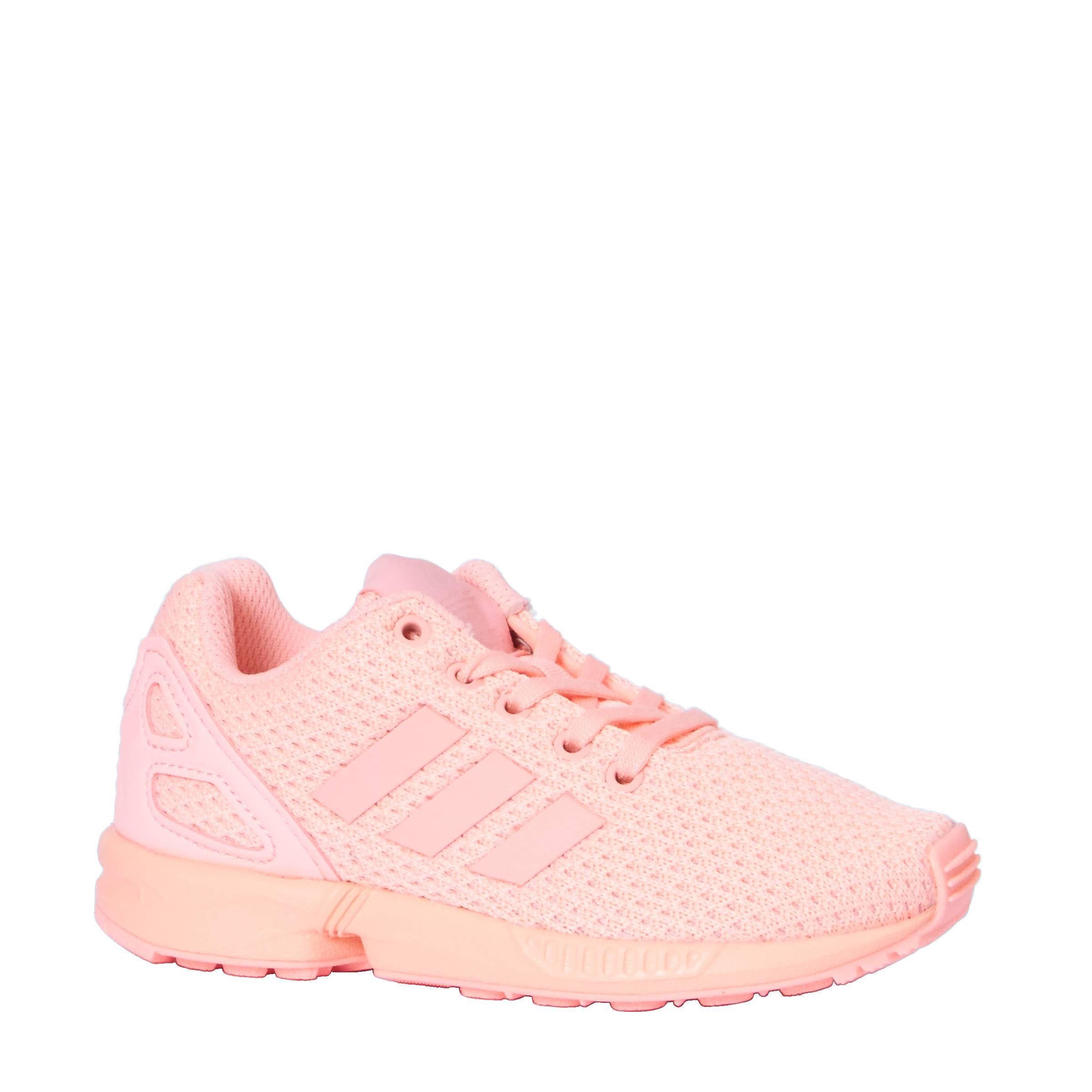 adidas originals zx flux roze