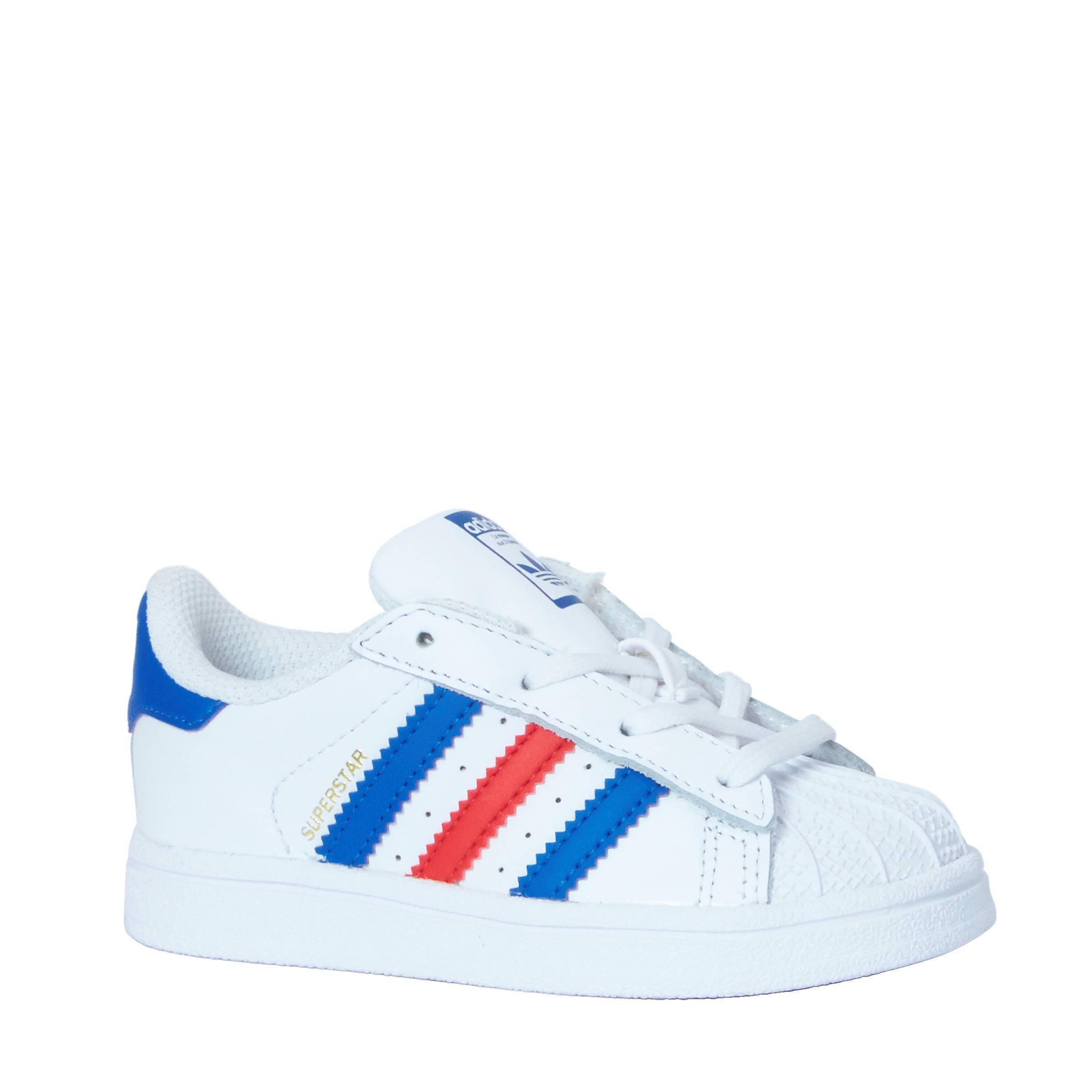 adidas originals rood wit blauw