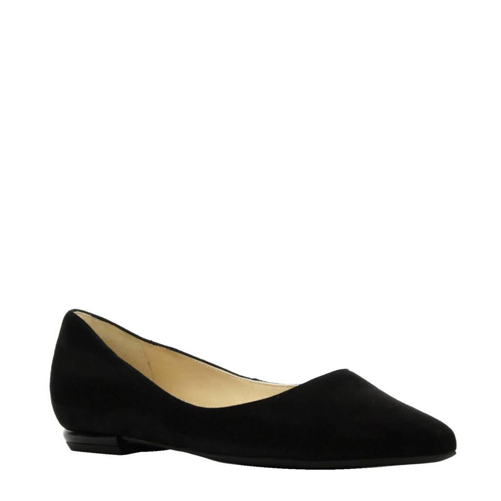 Hogl suède loafers, Zwart