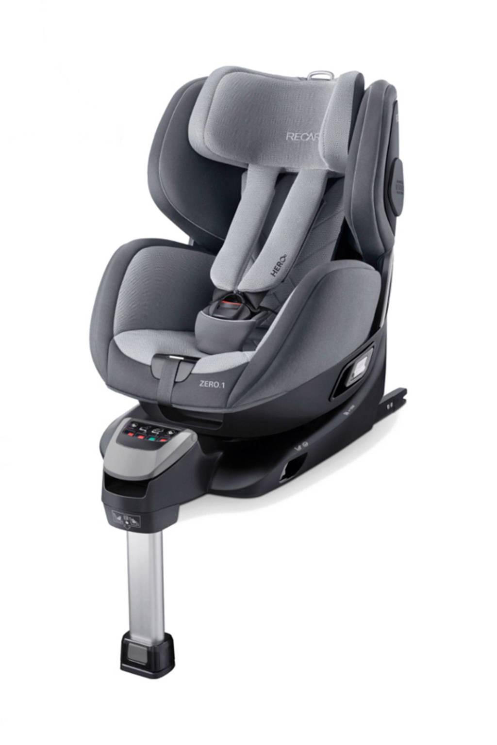 Recaro Zero.1 i-Size autostoel groep 0+/1 aluminium grey, Aluminium grey