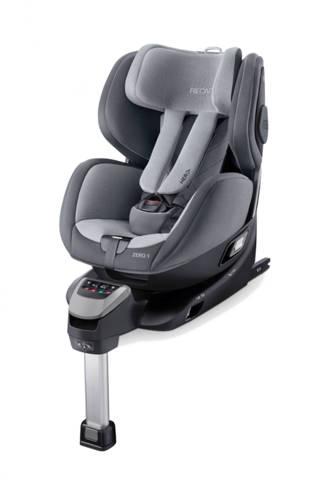 Zero.1 i-Size autostoel groep 0+/1 aluminium grey