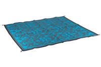 Bo-Leisure buitenkleed (200x180 cm), Blauw met grijs