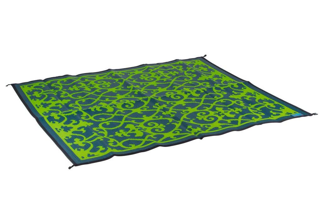 Bo-Leisure buitenkleed (200x180 cm), Groen met grijs