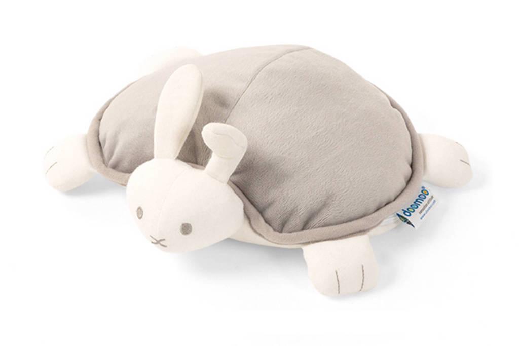 Doomoo Rabbit Snoogy warmtekussen grijs, Grijs