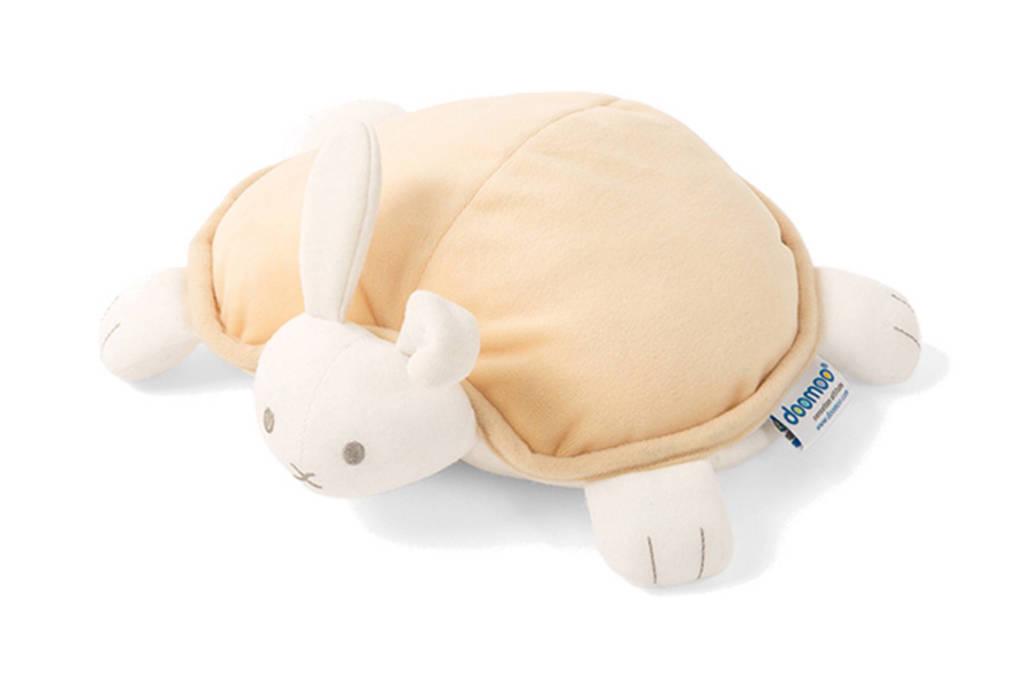 Doomoo Rabbit Snoogy warmtekussen geel, Geel
