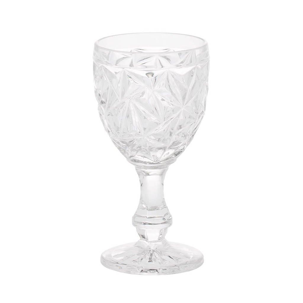 Riverdale Star wijnglas (Ø9 cm), Transparant