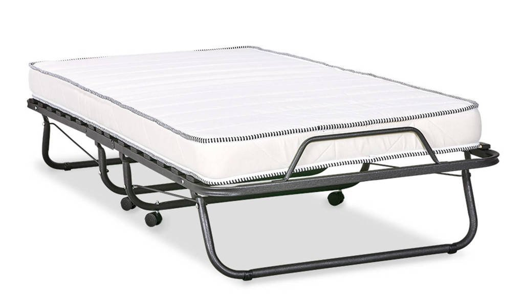 Beter Bed logeerbed Migliore (90x190 cm), Metal Grey
