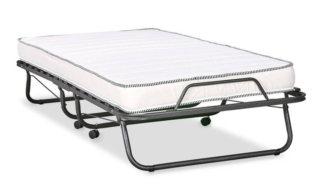 Beter Bed vouwbed Migliore (90x200 cm), Metal Grey