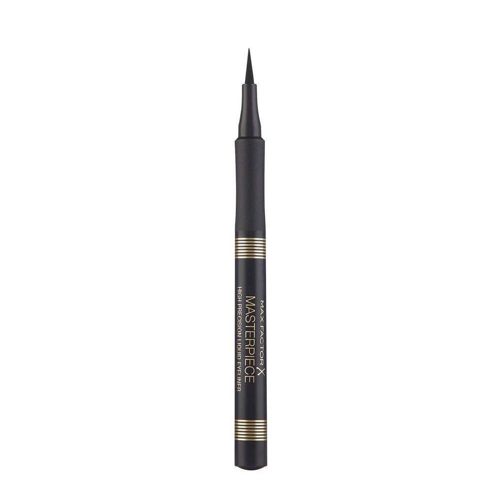 Max Factor Masterpiece High Precision Liquid eyeliner - Black, Zwart