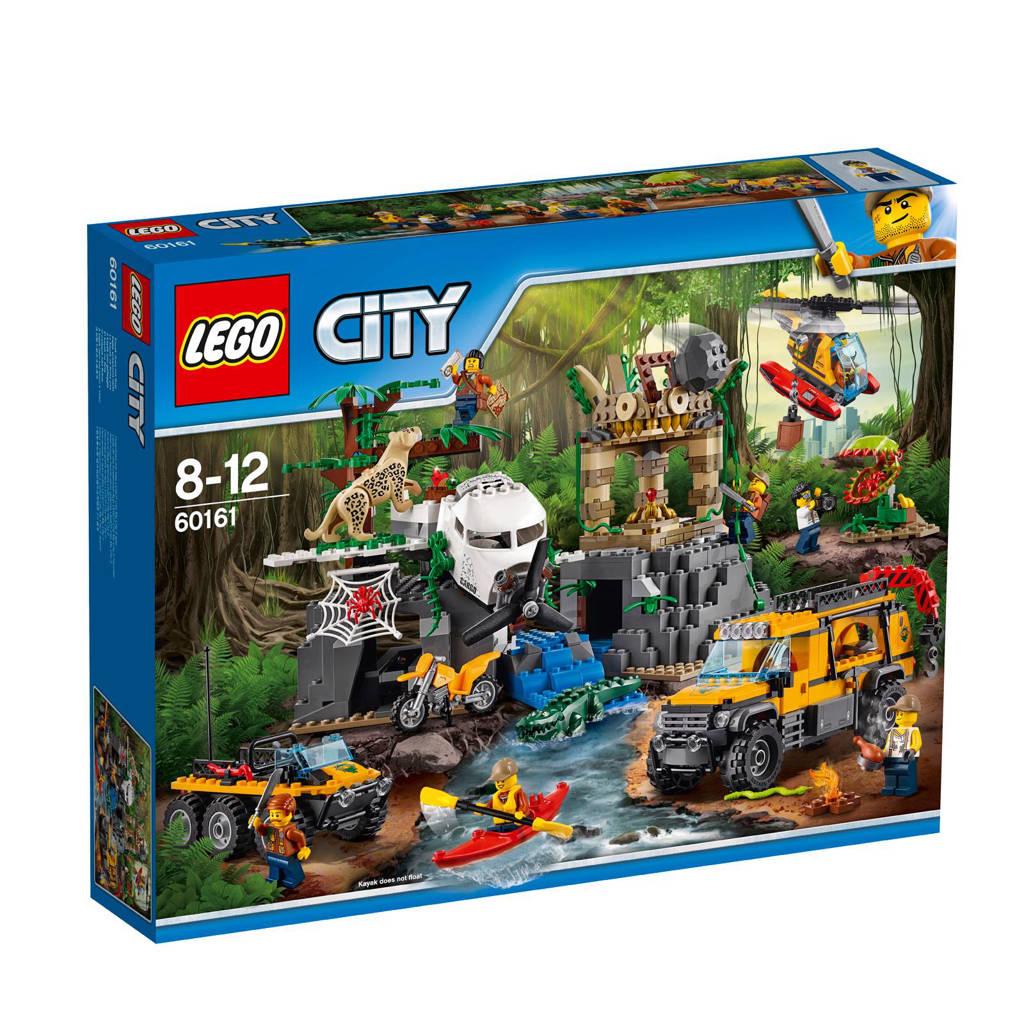 LEGO City jungle onderzoekslocatie 60161