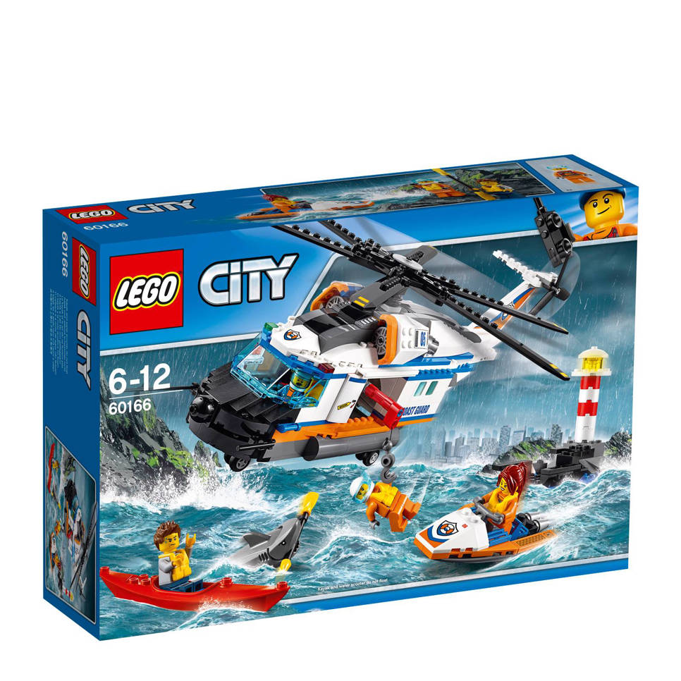 LEGO City zware reddingshelikopter 60166