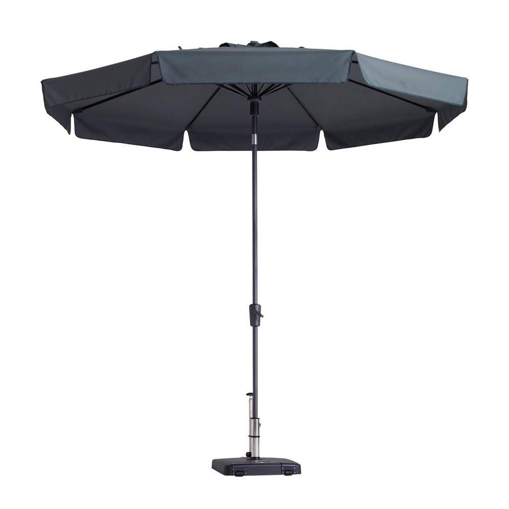 Madison parasol Flores luxe (ø300 cm), Grijs