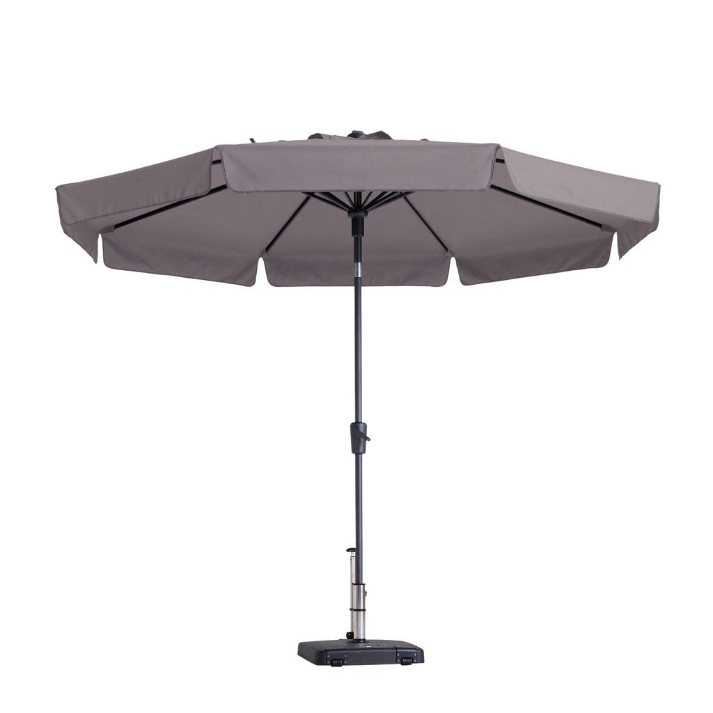 Madison parasol Flores luxe (ø300 cm), Taupe