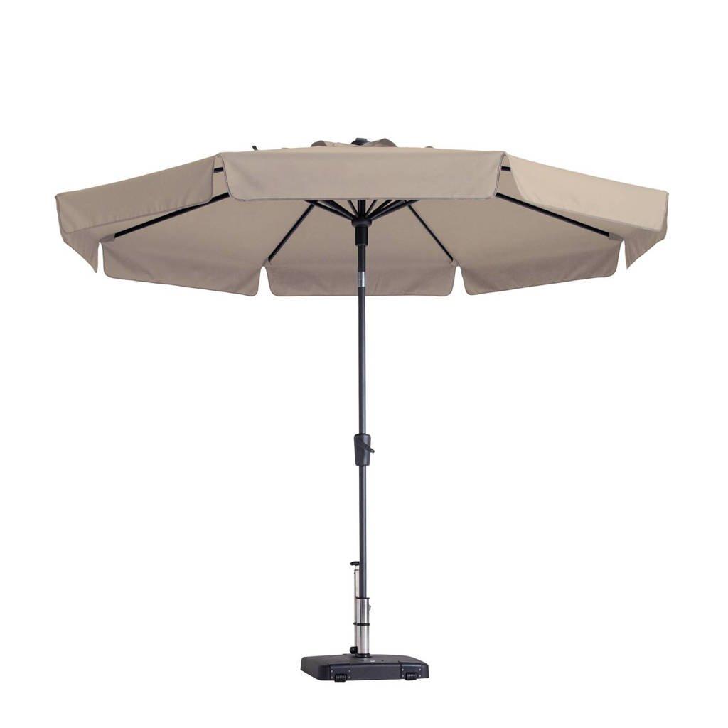 Madison parasol Flores luxe (ø300 cm), Ecru