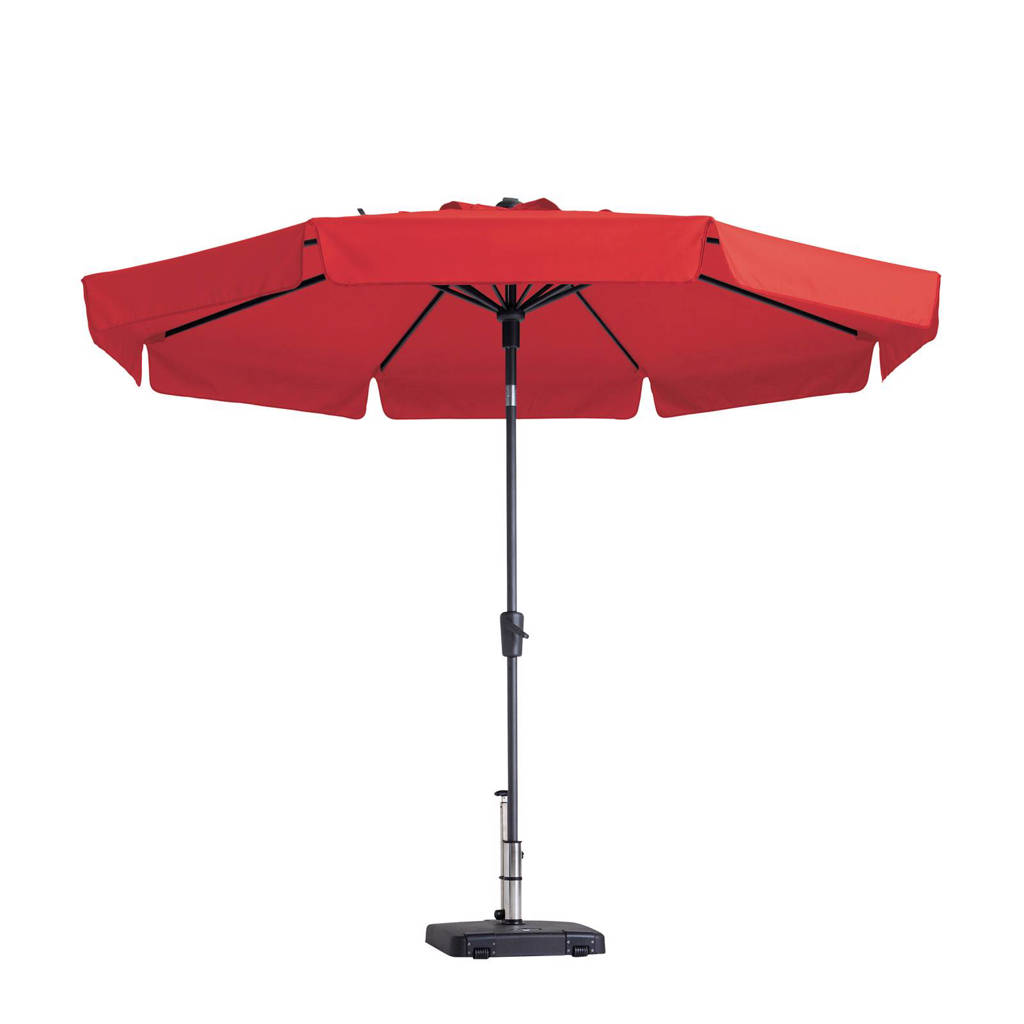 Madison parasol Flores luxe (ø300 cm), Rood