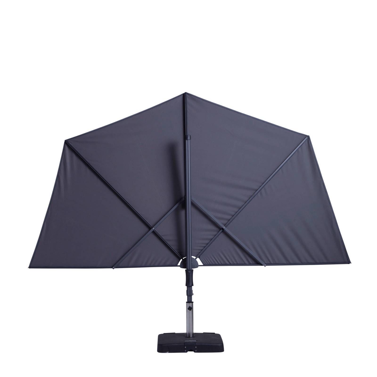 Parasol Voor Balkon.Madison Balkonparasol Sun Wave 270x150 Cm Wehkamp