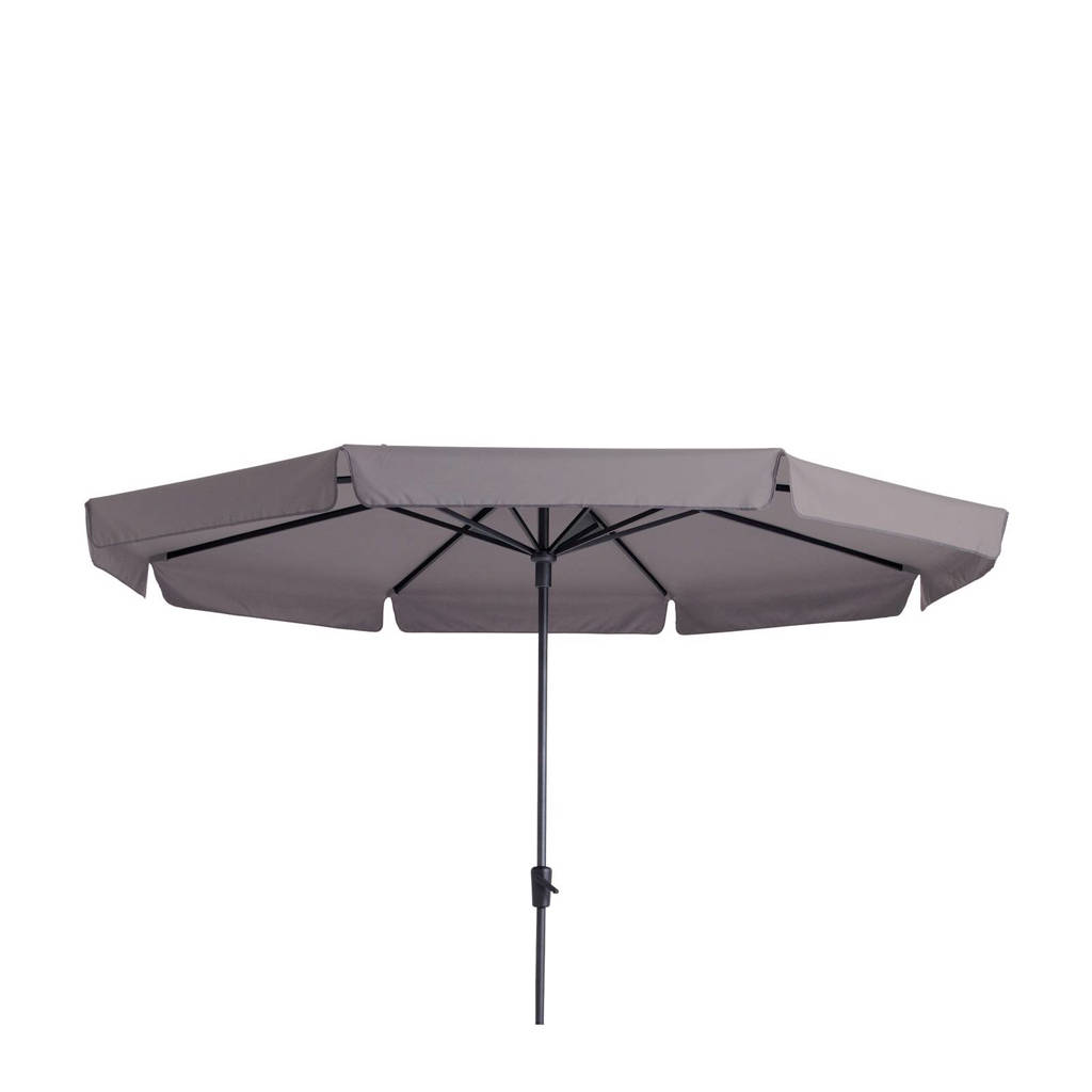 Madison parasol Syros luxe (ø350 cm), Taupe