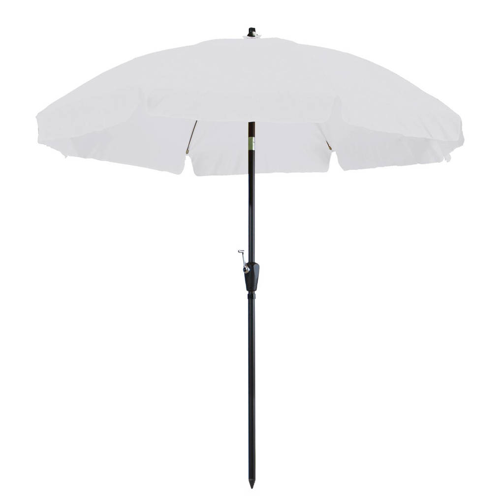 Madison parasol Corfu (ø250 cm), Wit