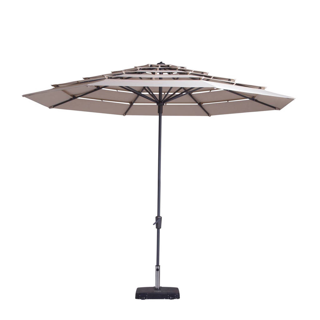 Madison parasol Syros Open Air (ø350 cm), Ecru