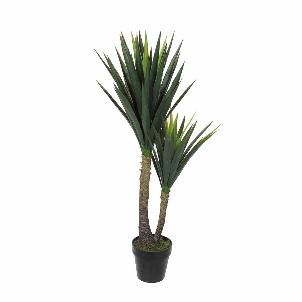 Mica Decorations kunstplant Yucca (h120 cm), Groen