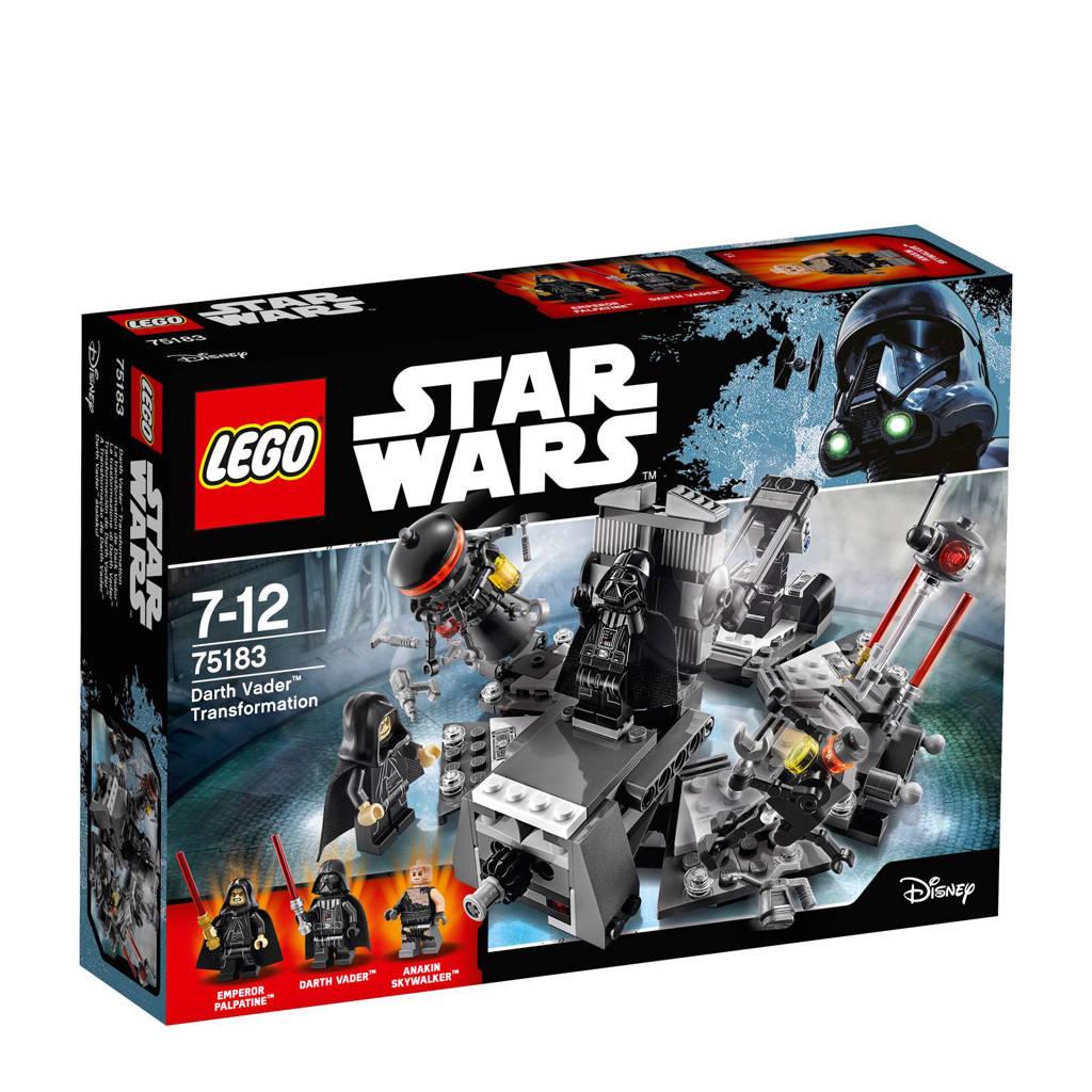 LEGO Star Wars Darth Vader transformatie 75183