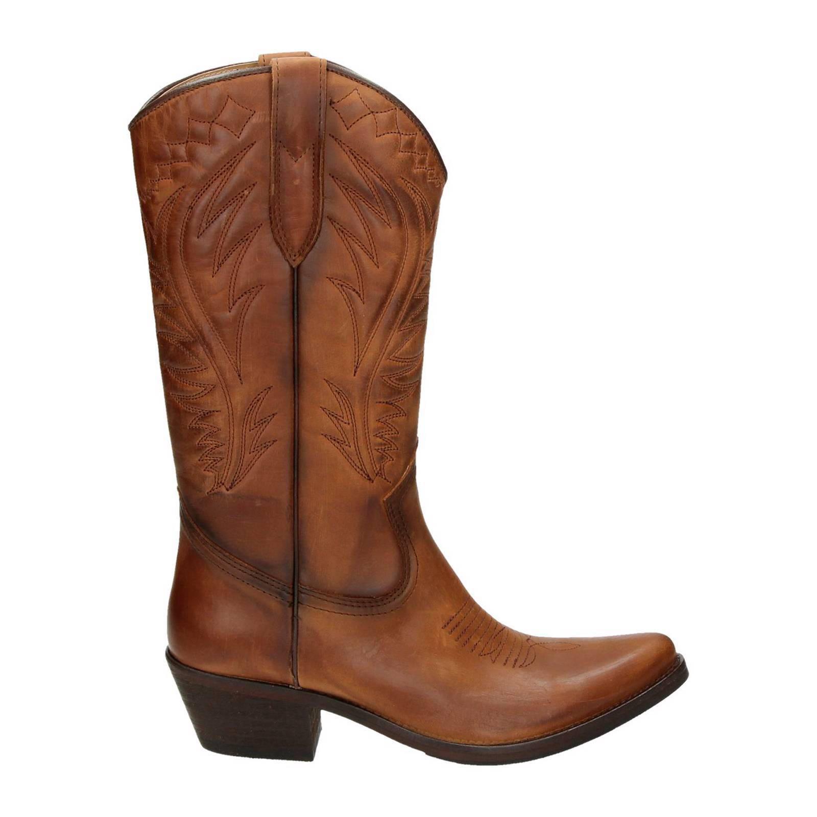 Kentucky's Western Cowboylaarzen voor dames Cognac