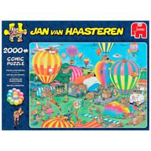 Jan van Haasteren Het ballon festival  legpuzzel 2000 stukjes