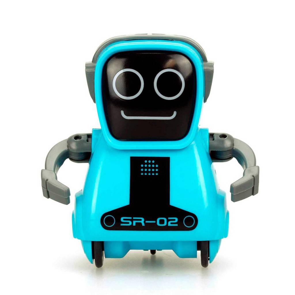 Silverlit  PokiBot blauw, Blauw