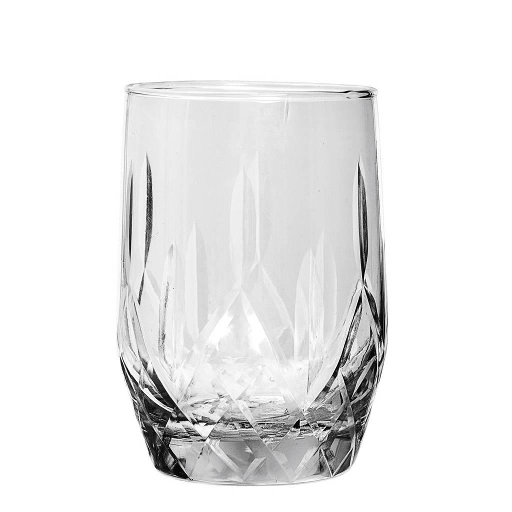 Bloomingville waterglas (Ø6,5 cm), Transparant