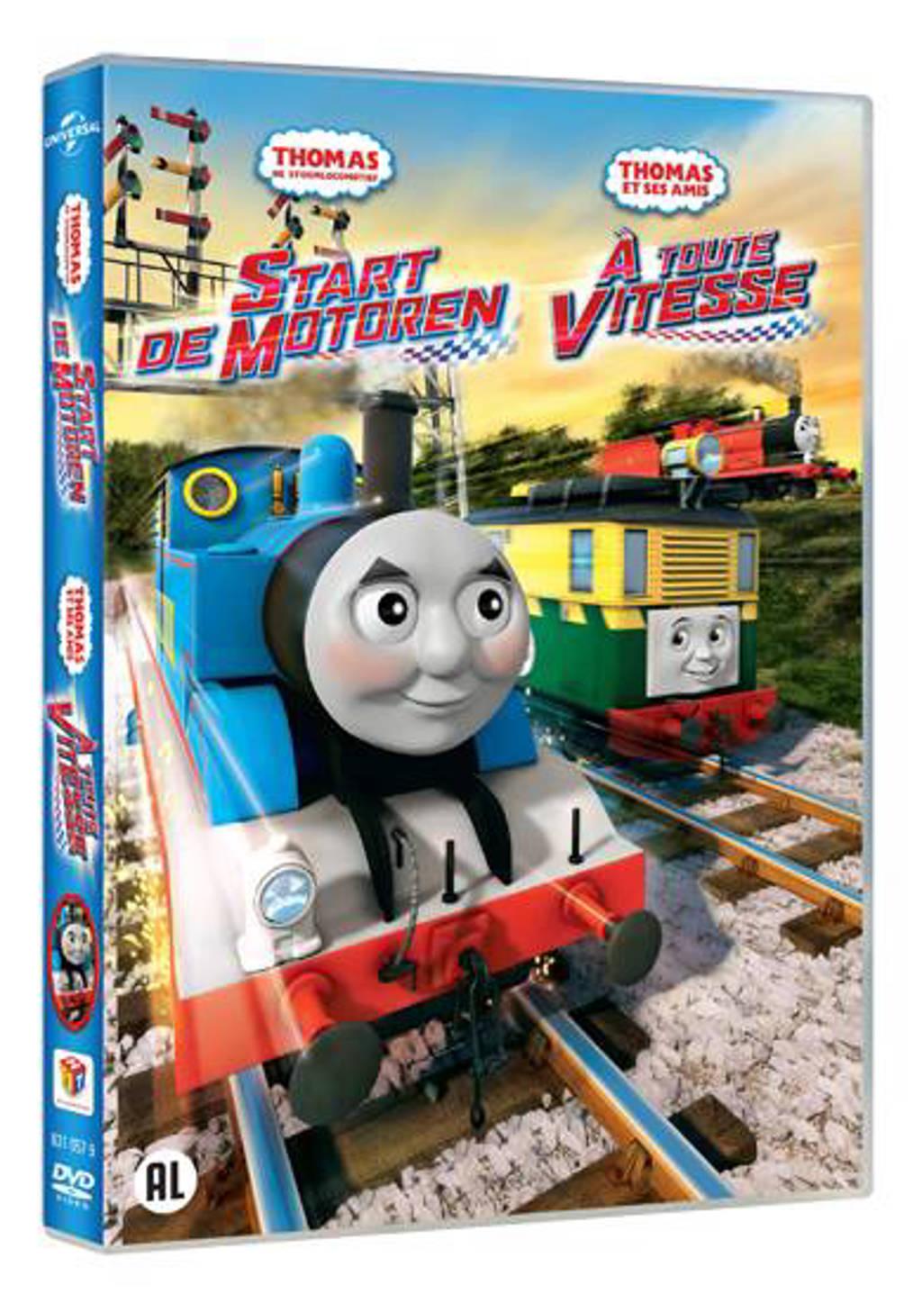 Thomas de stoomlocomotief - Start de motoren (DVD)