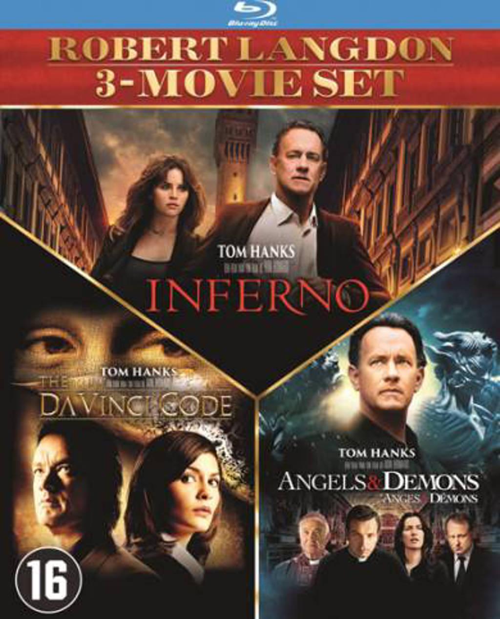 Da vinci code - Angels & demons - Inferno (Blu-ray)