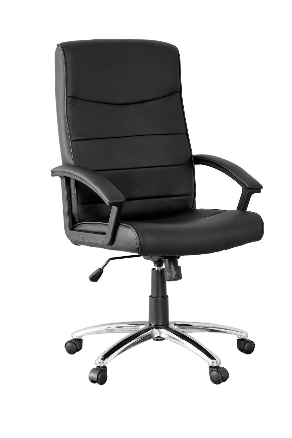 Fijne Zwarte Bureaustoel.Anytime Bureaustoel Turijn Wehkamp
