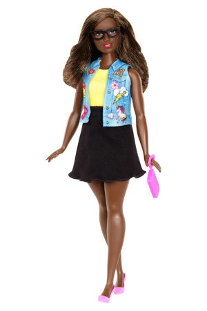 Barbie Fashionistas 39 emoji fun