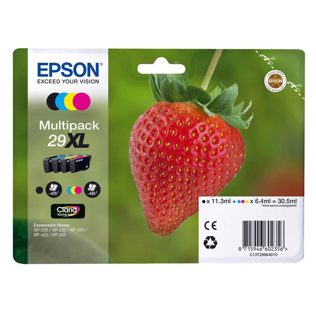 Epson 29XL Claria Home inktcartridge multipack, Multi