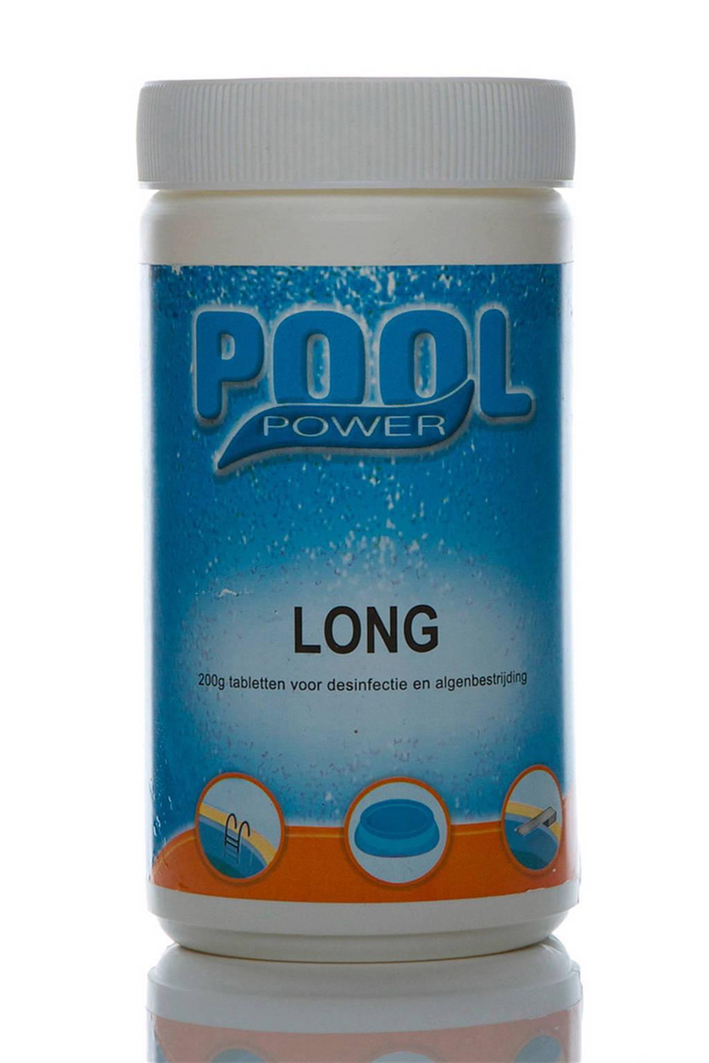 Pool power Long 200gr. desinfectie tabletten