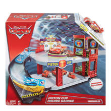 Pixar Cars Piston Cup racing garage