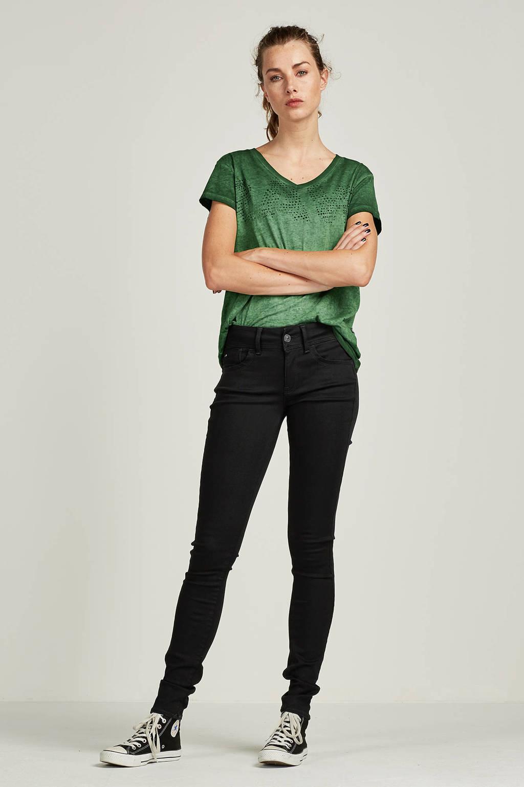 G-Star RAW Lynn Mid Super Skinny jeans, Zwart
