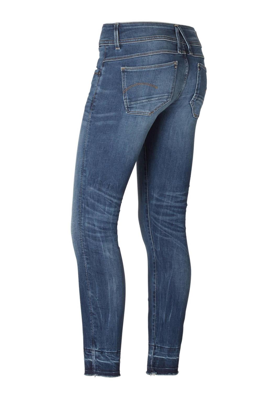 127aa0b98b2 G-Star RAW Lynn Mid Skinny Ankle jeans, Medium indigo aged
