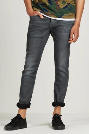 slim fit jeans 3301 dark aged cobler