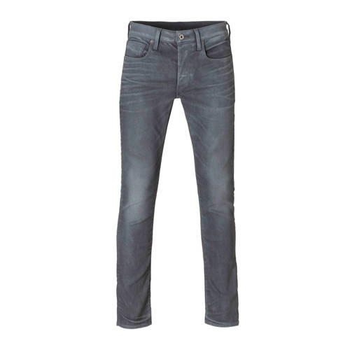 G-Star RAW slim fit jeans 3301 dark aged cobler