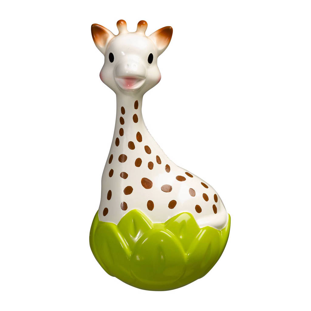 Sophie de Giraf  tuimelaar, Beige, groen