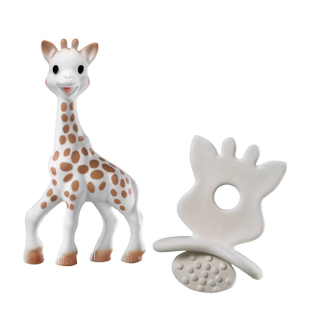 Sophie de Giraf cadeauset met So'Pure bijtspeentje en Sophie de Giraf